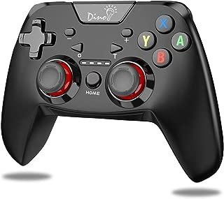 「2019最新版」switch コントローラー Nintendo switch用 ワイヤレス プロコントローラー BEBONCOOL ジャイロセンサー搭載 DinoFire Turbo機能付き Bluetooth接続 無線「日本語取扱説明書」任天堂スイッチ対応プロコン