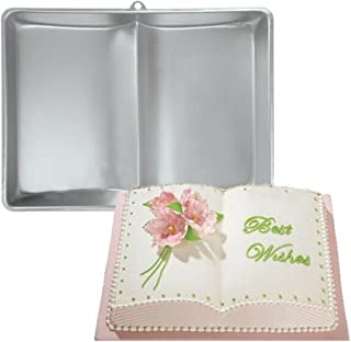 Plum Garden 3D Book Shape Fondant Cake Tin Baking Mold Decorating Bake Ware Tools