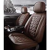 Cubiertas universales de asiento de automóvil cubiertas de asiento de automóviles Protectores de cuero a prueba de agua PU CUBIERTAS CUBIERTAS CUBIERTAS CUBIERTAS CONJUNTO COMPLETO (5 asientos), Unive
