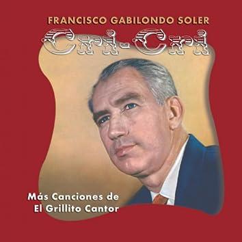 Mas Canciones Del Grillito Cantor