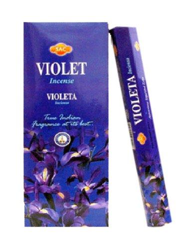 Jbj Sac Violeta Incienso 120sticks
