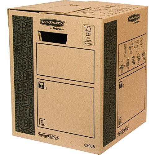 Bankers Box 6206802 - Caja de transporte y mudanza, medio