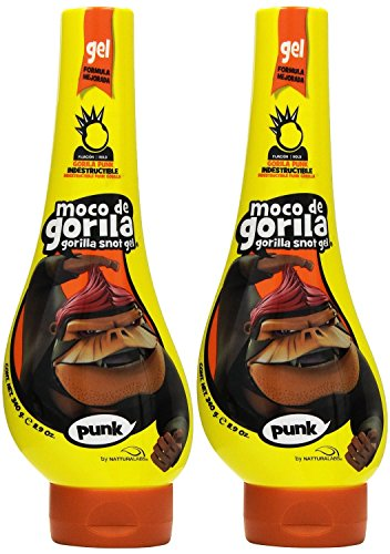 Moco de Gorila Estilo Punk Extreme Hold Gel, 11.9 Ounce (Pack of 2) by Moco de Gorila