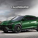 Lamborghini Urus Calendario 2021 Agenda settimanale Taccuino