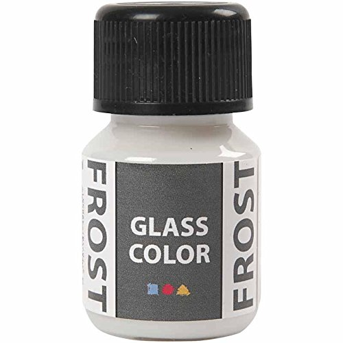 Creativ Company Glasfarbe Frost, 35 ml, Weiß