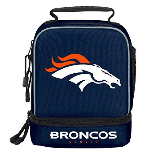 NFL Denver Broncos 'Spark' Lunch Kit, 9' x 4.5' x 7.25'