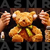 ASMR Taking Care of Teddy, Head Massage, Facial Cleansing, Fur Combing and Ear Cleaning (No Talking)
