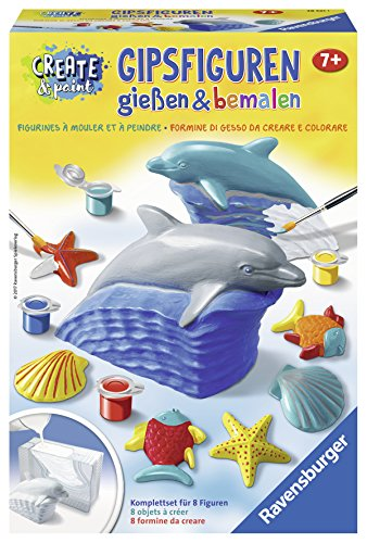 Ravensburger 28521 - Delfin - Gipsfiguren gießen und bemalen
