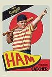 Pyramid America The Sandlot Movie Ham Porter Baseball Card Retro Vintage Sports Film Cool Wall Decor Art Print Poster 12x18