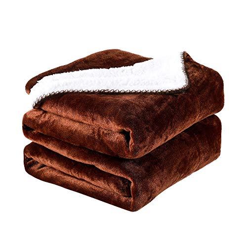 PETTOM - Manta para Perros y Gatos (150x127 cm), Impermeable, a Cuadros, Suave, Esponjoso, Grueso, Lavable, para Cama y sofá