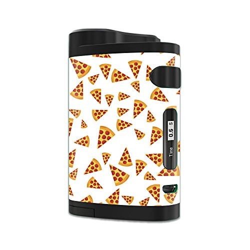 MightySkins Skin Compatible with Eleaf iStick Pico Dual – Body by Pizza   Protective, Durable, and Unique Vinyl Decal wrap Cover   Easy to Apply, Remove, and Change Styles   Made in The USA