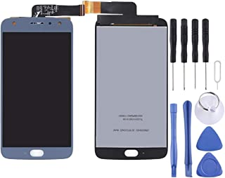 Mobile Phones Communication Accessories for Motorola Moto X4 LCD Screen and Digitizer Full Assembly(Black) (Color : Blue)