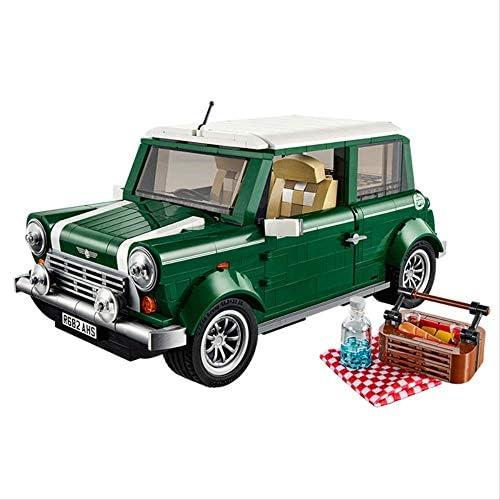 Auto Baustein Geb e Block Modell Auto Kreative Wissenschaft und Technologie Serie Retro Mini Ziegel Auto Kinder Montage Spielzeug