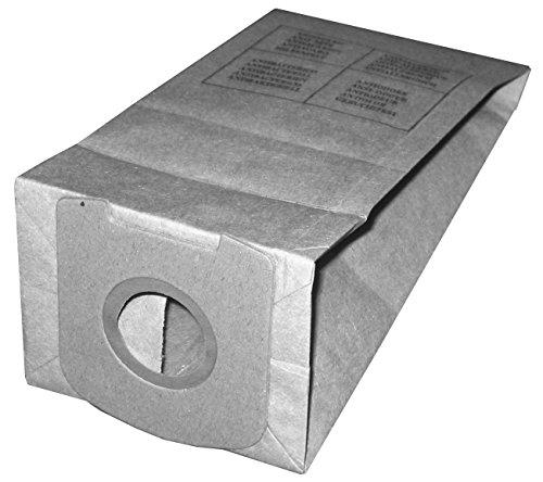 Elettrocasa VT18 Confezione Sacchetti per Aspirapolvere, 10 Pz