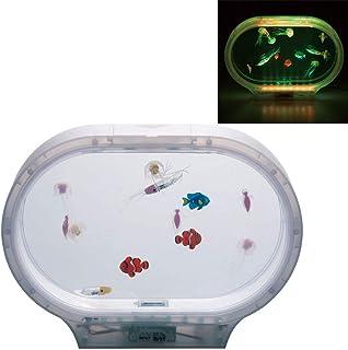 イシグロ 18156-57(57/フロスト) AQUARIUM(アクアリウム) 海の仲間たち W31×H22.5×D7.7 インテリア LED 照明 癒し リラクゼーション