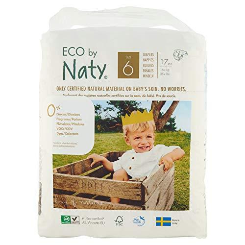 Nature Babycare Baby 17 pannolini taglia 6