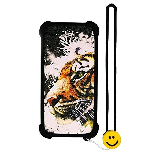 Lovewlb Hülle für Oppo R3 R7007 hülle Silikon Grenze + PC hart backplane Schutzhülle Case Cover Nacht-Leuchtende LH