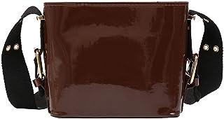 VogueZone009 Women's Casual Pu Bags Crossbody Bags,CCABO211694