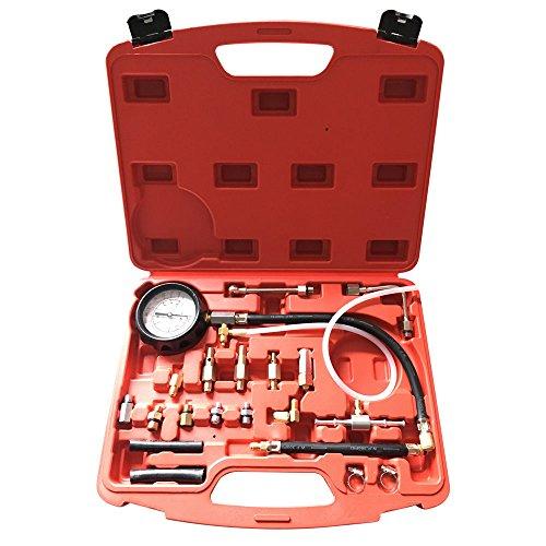 MILLION PARTS Fuel Injection Pump Pressure Tester Manometer Car Auto Gauge Kit