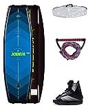 Jobe - Set Wakeboard da Uomo con Logo 138 e attacchi Maze, Multicolore, Taglia Unica...