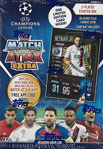 Topps 2019/20 UEFA Champions League Match Attax Extra Starter Hanger Box