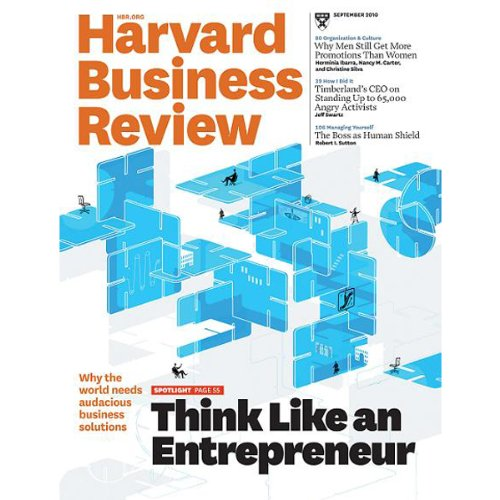 Harvard Business Review, September 2010 cover art