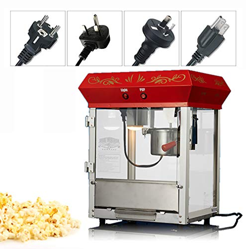 Check Out This T-king 110V Popcorn Machine -Electric Commercial Automatic Popcorn Machine with Insul...