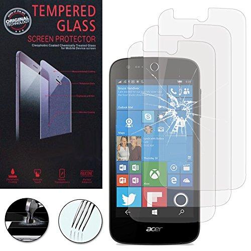 Annart Bildschirmschutzfolie aus Hartglas für Acer Liquid M330/Liquid M320 [3 Stück]