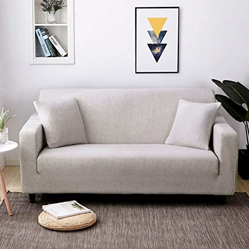 Funda de sofá elástica elástica con Estampado Floral, Toalla de sofá de algodón, Fundas de sofá Antideslizantes para Sala de Estar A14, 4 plazas