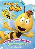 La Abeja Maya. Maya y sus amigos: Libro para colorear (La Abeja Maya 3D)