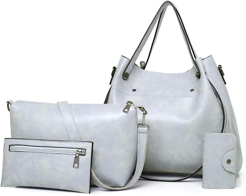 ZLULU Damen-Schultertaschen Damenhandtaschen Mehrteilige Frauentasche Wilde Pu Bewegliche Umhängetasche B07L3BNF6X  Billiger als der Preis