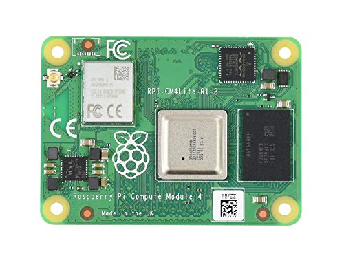 Waveshare Raspberry Pi Compute Module 4 The Power of Raspberry Pi 4 in a Compact Form Factor 1GB RAM 0GB (Lite) EMMC Flash with WiFi