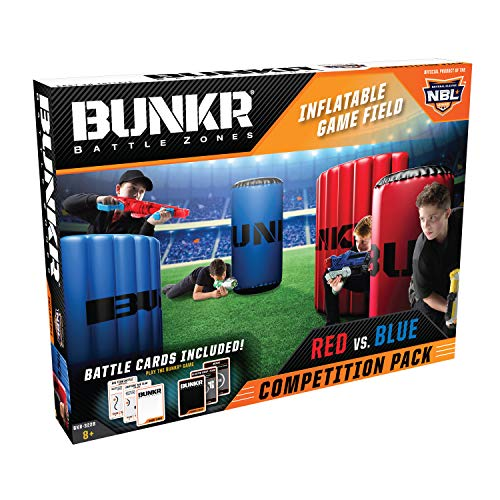 bunkr Battle Zones Red vs. Blue Competition Pack Red