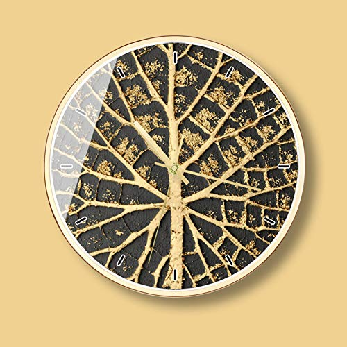 TAOZIAA wandklok in goud zwart soort wandklok tafellamp woonkamer klok creatieve wandklok decoratie van het huis
