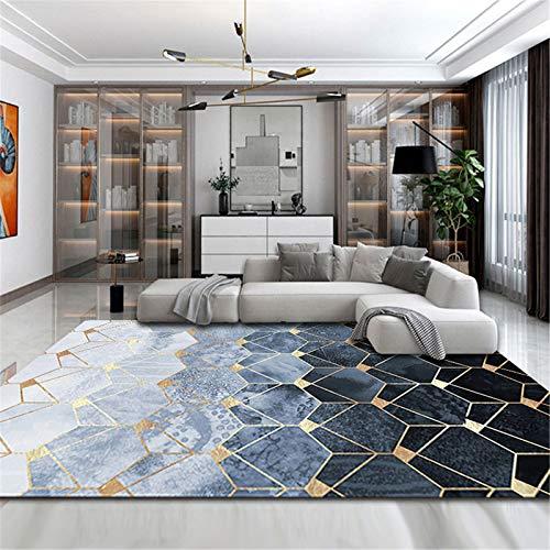 Hogar Dormitorio Simple Alfombra Rectangular Sala De Estar Sofá Mesa De Centro Alfombra Alfombrillas Cómodas Y Cálidas 160x200cm