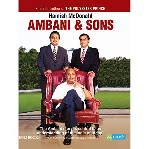 Ambani and Sons audiobook cover art