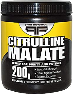 Primaforce Citrulline Malate, 200 Gram, Pack Of 2