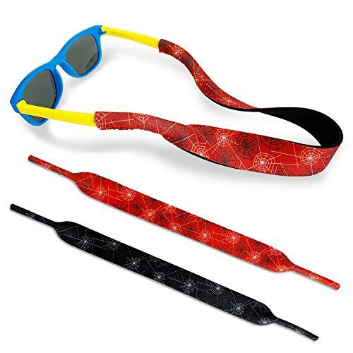 Spider Kids Eyewear Retainer Design with Floating Neoprene Material...