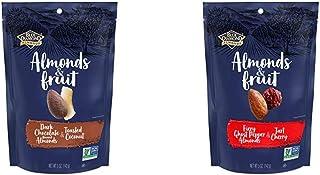 Blue Diamond Almonds & Fruit Bag, Dark Chocolate Flavored Almonds & Toasted Coconut, 5 Ounce with Blue Diamond Almonds & F...