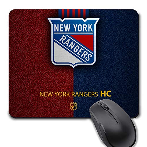 New York Hockey Mouse Pad, Life Needs Sports Unique Design Non-Slip Rubber Gaming Mousepad,Gift for Fans