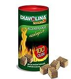Diavolina Accendifuoco Ecologico Pz.100