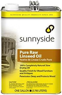 Sunnyside Corporation 873G1 Pure Raw Linseed Oil, Gallon