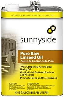 Sunnyside 873G1 Pure Raw Linseed Oil, Gallon