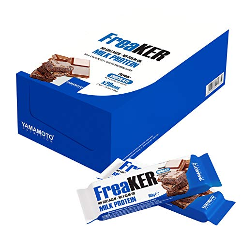 Yamamoto Nutrition FreaKER, Vanilla & Choco Brownie with Dark Chocolate Coating, 1.14 kg