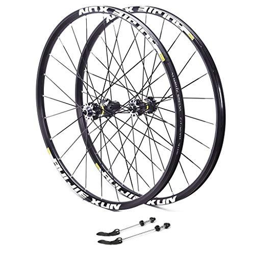 MTB 26, for Bicicleta Ruedas aleación Aluminio Doble Pared del Borde Disco Freno V-Sealed Velocidad Rodamientos 8/9/10/11 Deportes (Color : B, Size : 27.5inch)