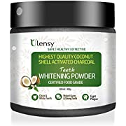 Upgraded Charcoal Teeth Whitening Powder, Higher Efficiency than Charcoal Toothpaste, Teeth Whitening Strips, Teeth Whitening Ges and Kits, Best Charcoal Teeth Whitening Powder for 2018