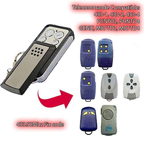 DEA Mio TD4/emisor manual para compatible con Model DEA Mio TD2 Clones