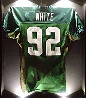 Reggie White 1994 Game Worn Used Signed Packers Starter NFL Football Jersey - PSA/DNA Certified - Other NFL Autographed Game Used Items