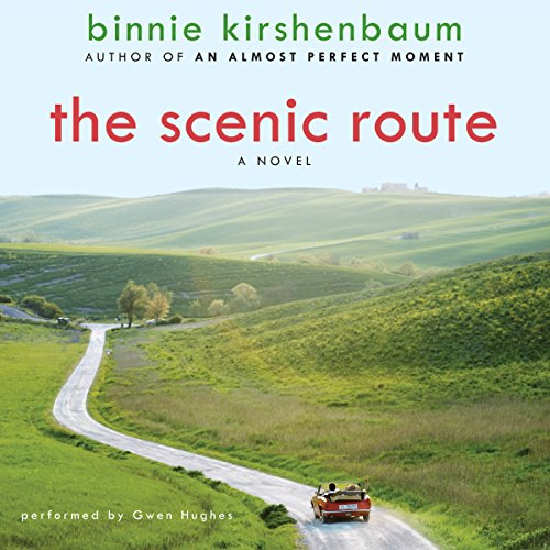 The Scenic Route: A Novel                   By:                                                                                                                                 Binnie Kirshenbaum                               Narrated by:                                                                                                                                 Chris Fogg                      Length: 8 hrs and 47 mins     11 ratings     Overall 3.5