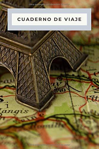Cuaderno de Viaje - Accesorios Viajeros: Diario de Viaje | Libreta de 120 páginas | Cuaderno de Rayas Horizontales | Bloc de Notas para Viajes | Recuerdos de Viajes | Regalos para Viajar